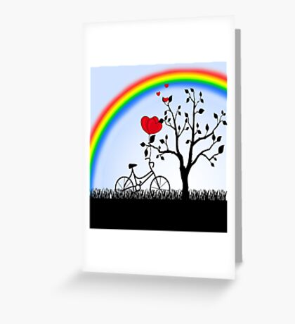 Love Hill Greeting Card