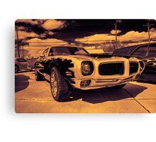 Pontiac d Canvas Print