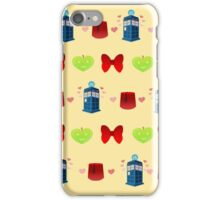 Whovian patten print edition iPhone Case/Skin