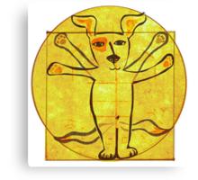 Dog Vinci  Canvas Print