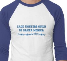 Cage Fighters Guild of Santa Monica Men's Baseball ¾ T-Shirt