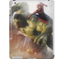 Marvel Team-Up: Hulk & Spider Man iPad Case/Skin