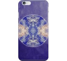 Flower of Life Blue iPhone Case/Skin