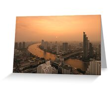 BANGKOK 01 Greeting Card