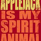 AppleJack is my Spirit Animal by Penelope Barbalios