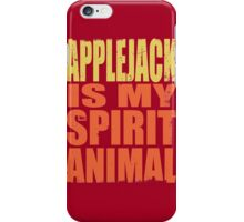AppleJack is my Spirit Animal iPhone Case/Skin
