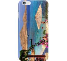 Bougainvillea and Beach Umbrella iPhone Case/Skin