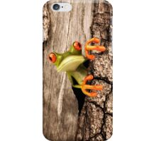 Frog Surprise iPhone Case/Skin