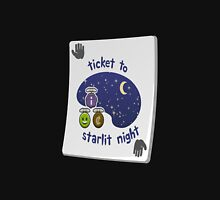 Glitch miscellaneousness paradise ticket starlit night Unisex T-Shirt