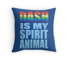 RainbowDash is my Spirit Animal Throw Pillow