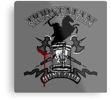 Horseman Hunt Club Metal Print