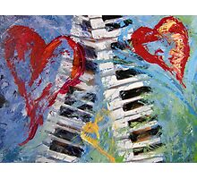 Concerto in Three Minor Hearts Photographic Print