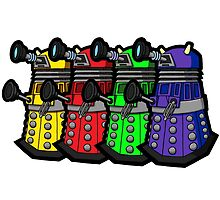 Beware the Daleks! by joshatomic