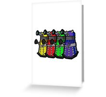 Beware the Daleks! Greeting Card