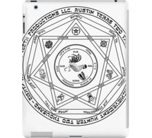 Rooster Teeth Supernatural - RT Demon Trap iPad Case/Skin