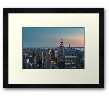 NEW YORK CITY 10 Framed Print