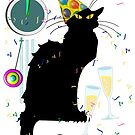 Chat Noir New Years Party Countdown by Gravityx9