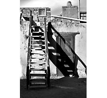 Taos Pueblo Study 4 BW Photographic Print
