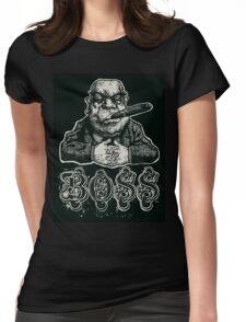 mafia boss  Womens Fitted T-Shirt