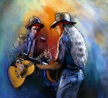 Willie Nelson And Keith Richards by Goodaboom