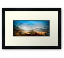 Descension Framed Print