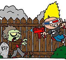 Zombies Ate My Neighbors! by joshatomic