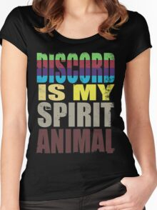 Discord is my Spirit Animal Women's Fitted Scoop T-Shirt