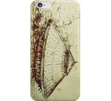 Da Vinci's tank iPhone Case/Skin