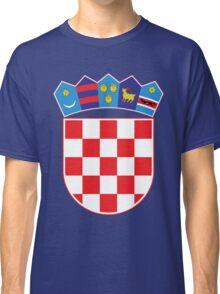 Croatia Hrvatska Original Coat of Arms Design Classic T-Shirt