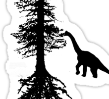 Dinosaur Browsing Sticker
