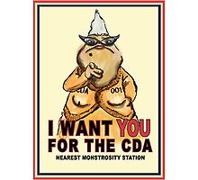 Roz Wants YOU for the CDA by DoodleHeadDee