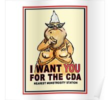 Roz Wants YOU for the CDA Poster
