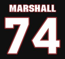 NFL Player Marshall Newhouse seventyfour 74 by imsport
