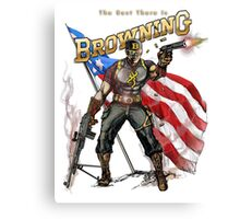 Captain Browning Canvas Print