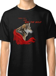 Red ridinghood  wolf  Classic T-Shirt