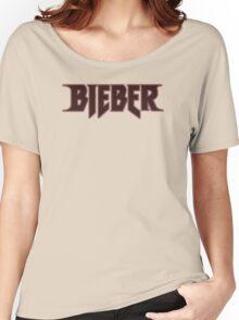 Bieber Purpose tour pink Women's Relaxed Fit T-Shirt