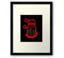 Red is dead! EXTERMINATE!!! Framed Print