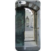 The Blue Mosque- no admittance iPhone Case/Skin