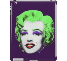 Marilyn j.  iPad Case/Skin