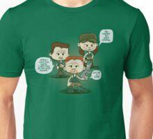 Abraham, Rosita, and Eugene Unisex T-Shirt