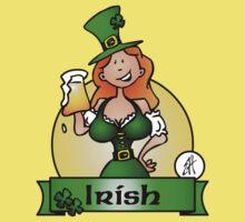 St. Patrick's Day Irish Maiden Kids Clothes