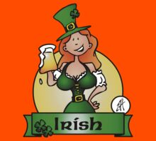 St. Patrick's Day Irish Maiden Kids Clothes