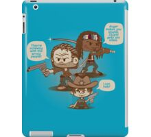 Rick, Carl, and Michonne iPad Case/Skin