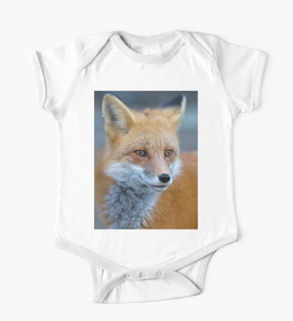 Red Fox - Algonquin Park, Canada One Piece - Short Sleeve