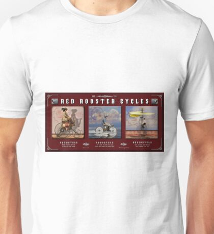Red Rooster Cycles Unisex T-Shirt