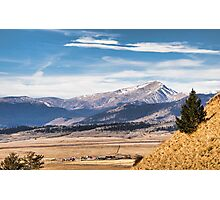 Boreas Mountain meets Valley Photographic Print