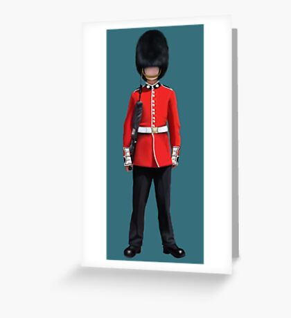Queens Guard Greeting Card