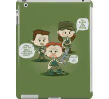 Abraham, Rosita, and Eugene iPad Case/Skin