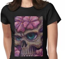girly skull  Womens Fitted T-Shirt