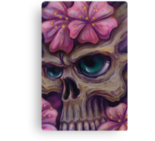girly skull  Canvas Print